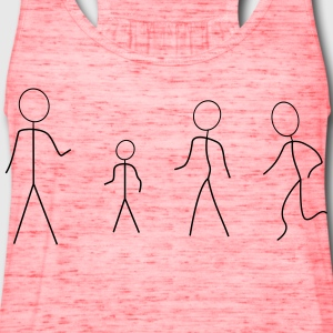 Stick Figures - Women's Flowy Tank Top by Bella