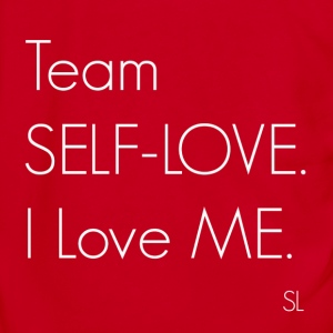 Team SELF-LOVE Tee T-Shirts - Unisex Fleece Zip Hoodie by American Apparel
