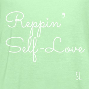 Reppin' Self-Love Shirt T-Shirts - Women's Flowy Tank Top by Bella
