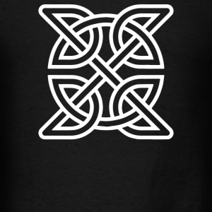 Celtic Knot Symbol Decal - Men's T-Shirt