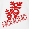 cute elk moose caribou reindeer christmas ugly fun Baby Bodysuits - Short Sleeve Baby Bodysuit