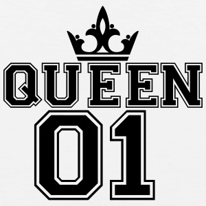 Queen_with_crown_01 - Men's Premium Tank