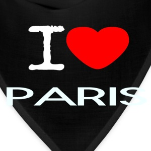 I LOVE PARIS - Bandana