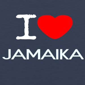 I LOVE JAMAIKA - Men's Premium Tank