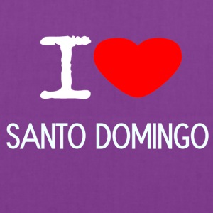I LOVE SANTO DOMINGO - Tote Bag