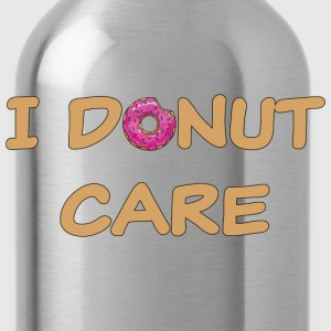 I donut care T-Shirts - Water Bottle