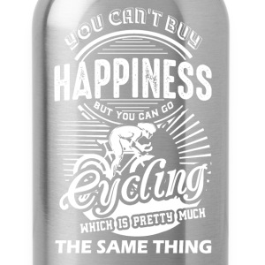 Cycling Happiness Shirt - Water Bottle
