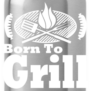 born to grill 1278127812.png T-Shirts - Water Bottle