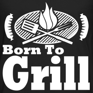 born to grill 1278127812.png T-Shirts - Men's Premium Long Sleeve T-Shirt