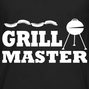 GRILL MASTER 12819289121.png T-Shirts - Men's Premium Long Sleeve T-Shirt