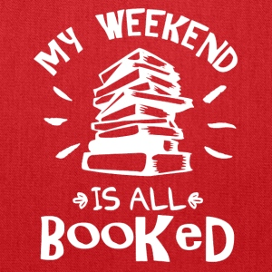 My Weekend Is Booked Shirt - Tote Bag