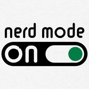 Nerd Mode On (Geek / Computer Freak) Baby Bodysuits - Men's T-Shirt
