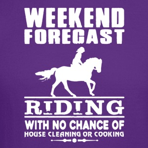 WEEKEND FORECAST RIDING TEE SHIRT - Crewneck Sweatshirt