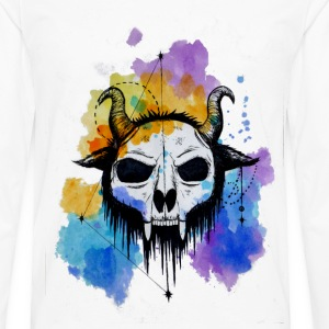 Skull Mask - Shirt - Men's Premium Long Sleeve T-Shirt