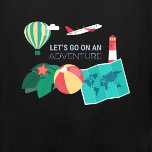 Travel - Let's go on an adventure - Men's Premium Tank
