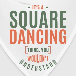 Square Dancing T-shirt - Bandana