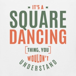 Square Dancing T-shirt - Men's Premium Tank