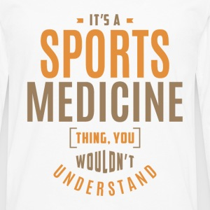 Sports Medicine T-shirt - Men's Premium Long Sleeve T-Shirt