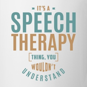 Speech Therapy T-shirt - Coffee/Tea Mug