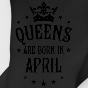 Queens are born in April Crown Stars sexy Woman T- - Leggings