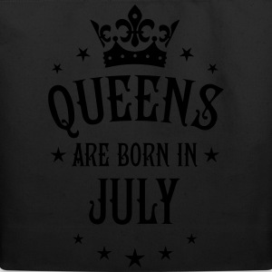 Queens are born in July Crown Stars sexy Woman T-S - Eco-Friendly Cotton Tote