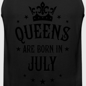 Queens are born in July Crown Stars sexy Woman T-S - Men's Premium Tank