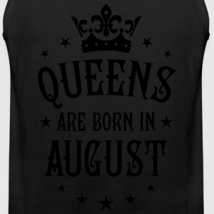 Queens are born in August Crown Stars sexy Woman T - Men's Premium Tank