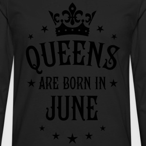 Queens are born in May Crown Stars sexy Woman Tee - Men's Premium Long Sleeve T-Shirt