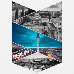 Berlin Germany City T-shirt - Men's Premium Tank