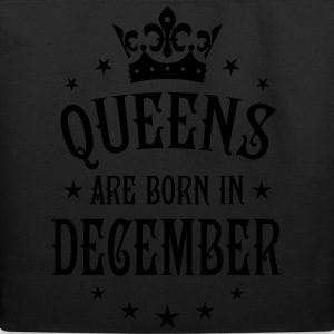 Queens are born in December Crown Stars sexy Woman - Eco-Friendly Cotton Tote