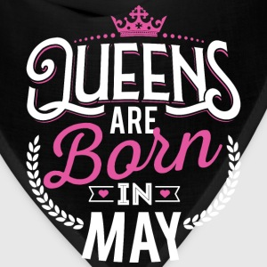 Born Birthday Bday Queens May Tanks - Bandana