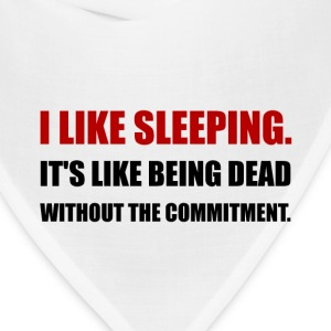 Sleeping Like Dead Commitment - Bandana