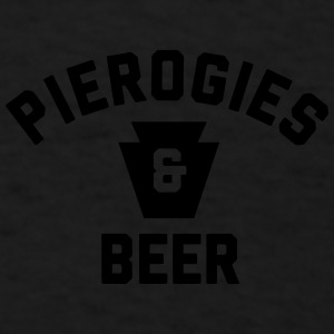 Pierogies & Beer Sportswear - Men's T-Shirt