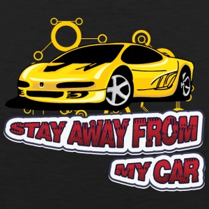 Stay_Away_from_my_car - Men's Premium Tank