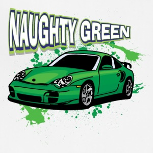Naughty_Green_porsche - Adjustable Apron
