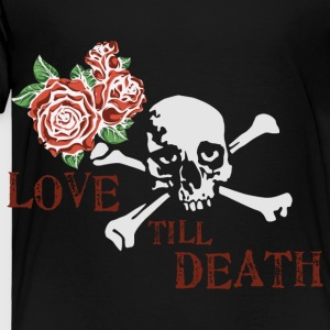 skull_and_roses_12_201603 Kids' Shirts - Toddler Premium T-Shirt