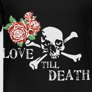 skull_and_roses_12_201602 Kids' Shirts - Toddler Premium T-Shirt