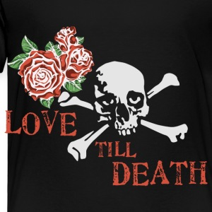 skull_and_roses_12_201601 Kids' Shirts - Toddler Premium T-Shirt