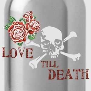skull_and_roses_12_201603 T-Shirts - Water Bottle
