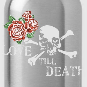 skull_and_roses_12_201602 T-Shirts - Water Bottle