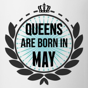 Queens Are Born In May T-Shirts - Coffee/Tea Mug