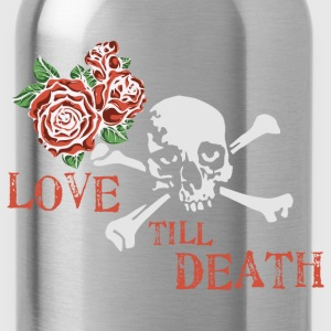 skull_and_roses_12_201601 T-Shirts - Water Bottle