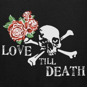 skull_and_roses_12_201602 T-Shirts - Men's Premium Tank