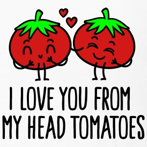 I love you from my head tomatoes Polo Shirts - Men's Premium Long Sleeve T-Shirt