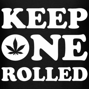 Keep One Rolled Hoodies - Men's T-Shirt