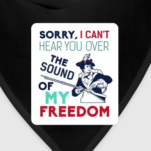 American Revolution - Sorry I can't here you over  - Bandana