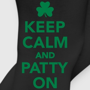 Keep calm patty on Kids' Shirts - Leggings