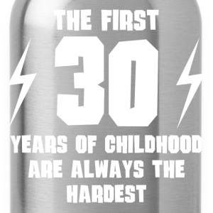 The First 30 Years Of Childhood - Water Bottle