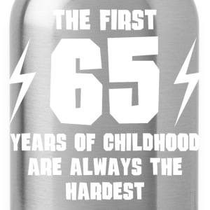 The First 65 Years Of Childhood - Water Bottle