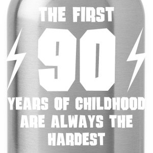 The First 90 Years Of Childhood - Water Bottle